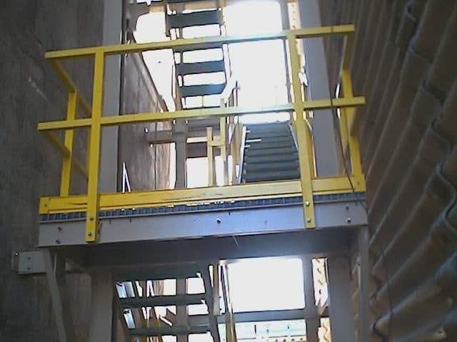 Barandales Dynarail Mexican Fiber Fibra De Vidrio Para Uso Industrial